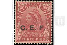 British India- China Expeditionary Force / Story behind the stamps