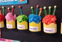 birthday in the classroom display