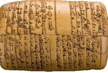 Antiche scritture / Le prime firme di scrittura nel mondo
