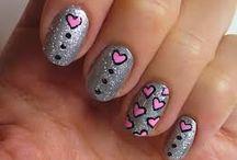 Love nails / Nail art harts - Love