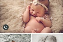 Photo - Newborn - Faux fur blanket