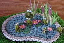 3D quilling about ponds