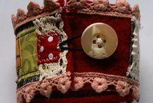 Fabric and Haberdashery jewellery