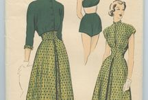 1940's Sewing Patterns / Vintage sewing patterns from the 1940's