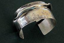handmade silver cuff bracelet uk