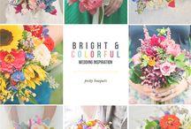 Colourful wedding ideas / Wedding ideas for a colourful soul