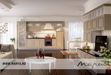Nicolle / Изысканность и особая притягательность кухни Nicolle проявляется в интерпретации классических элементов дизайна через призму формальной строгости современного стиля. Рельефный декор фасадов — яркий элемент дизайна. Функциональные боковые фасады позволят использовать открытые модули и создавать самые разнообразные композиции.