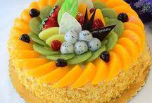 cake topping fruit