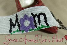 The M.O.M. Store / Jewels Around Mom's Heart line for The M.O.M. Initiative, T-Shirts, Bags & Other M.O.M. Stuff.