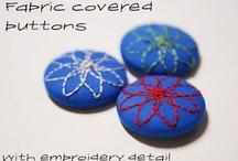 Potahované knoflíky / covered buttons