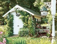 """Potting Sheds/Playhouse for the """"grands"""""""