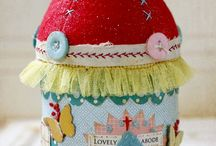 Pin cushions / by Eileen McNabb