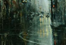 Pantings by Hsin-Yao Tseng