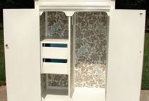 painted wardrobes