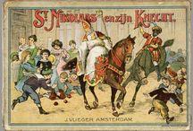Sint Nicolaas / Verzameling oude Sinterklaas afbeeldingen/ Collection of old images of Saint Nicholas