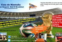 Offer in Casa de Montaña Bed & Breakfast / Soccer World Cup special  www.casademontana.com
