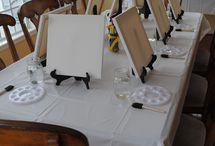 Art Party Ideas