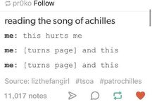 BOOKS / Contains: Harry Potter | Song of Achilles