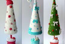 Елочки. Christmas tree. / by Tanya Den