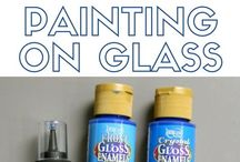 Which paint on glass