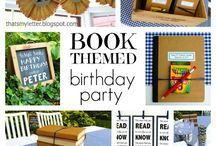 Reagan's 12th Birthday party ideas / Brushes and bindings or sketches and stories theme