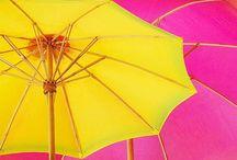 C: Yellow, Orange, & Pink