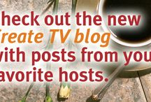 Share Your Creations / Share recipes, projects and tips. Follow this board, send an email with your Pinterest username to: info@createtv.com and you'll be added as a contributor and you can share your creations! / by Create TV