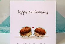 Happily ever after / Valentines, Wedding and Anniversary cards