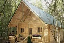 Cabins & Tiny Houses / I love my little tiny house, but these give me inspiration to make it better! (Or maybe just build another one...)
