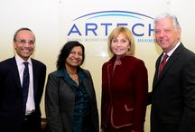 Lt. Governor Kim Guadagno's Visit to Artech / Lt. Governor Kim Guadagno of New Jersey visited Artech's Headquarters as part of her tour of Women Leaders in Business.