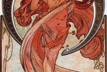 Alphonse Mucha Artwork