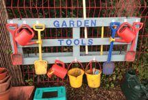 Outdoor play - pre school