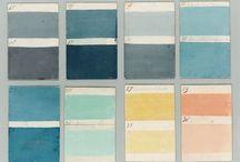 Arkitektenes fargekobinasjoner