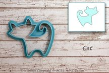 Animals Cookie Decorating / Ideas for animals cookie decorating  dog cookies, whale cookies, cat cookies...