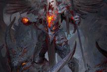 Demonios y Caídos