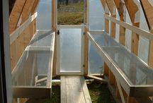 DIY Greenhouses & Potting Sheds / by Em Hale
