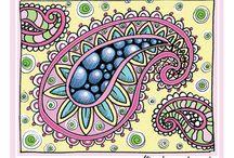 Doodles-Paisley / by Cristina Vazquez-Villegas