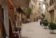 Corfu Island  Strolling around Corfu Town / https://www.facebook.com/lifethinktravel