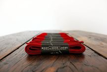 Boot and Shoe Laces / Waxed cotton laces for shoes and boots - Made in Italy.