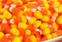 Candy Corn Inspiration / Decorating for Fall & Halloween using Candy Corn.
