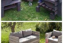 kerti bútorok paléból