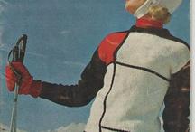 Vintage ski wear