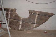 Costruzione di un timone in legno