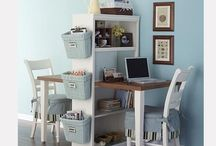 Small Desk Spaces / by Angela Goodwin