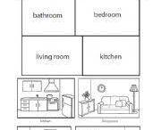 Englanti: talo/huoneet