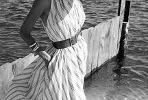 Long Silk Summer Dress
