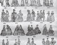 forme costume / differenti silouettes nel tempo