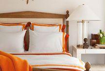 Interior Color | Orange / by Kate | Sensational Color