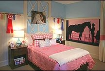 Horse room ideas / This is todaly what i want my room to be