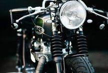 motos antiguas. / motos antiguas
